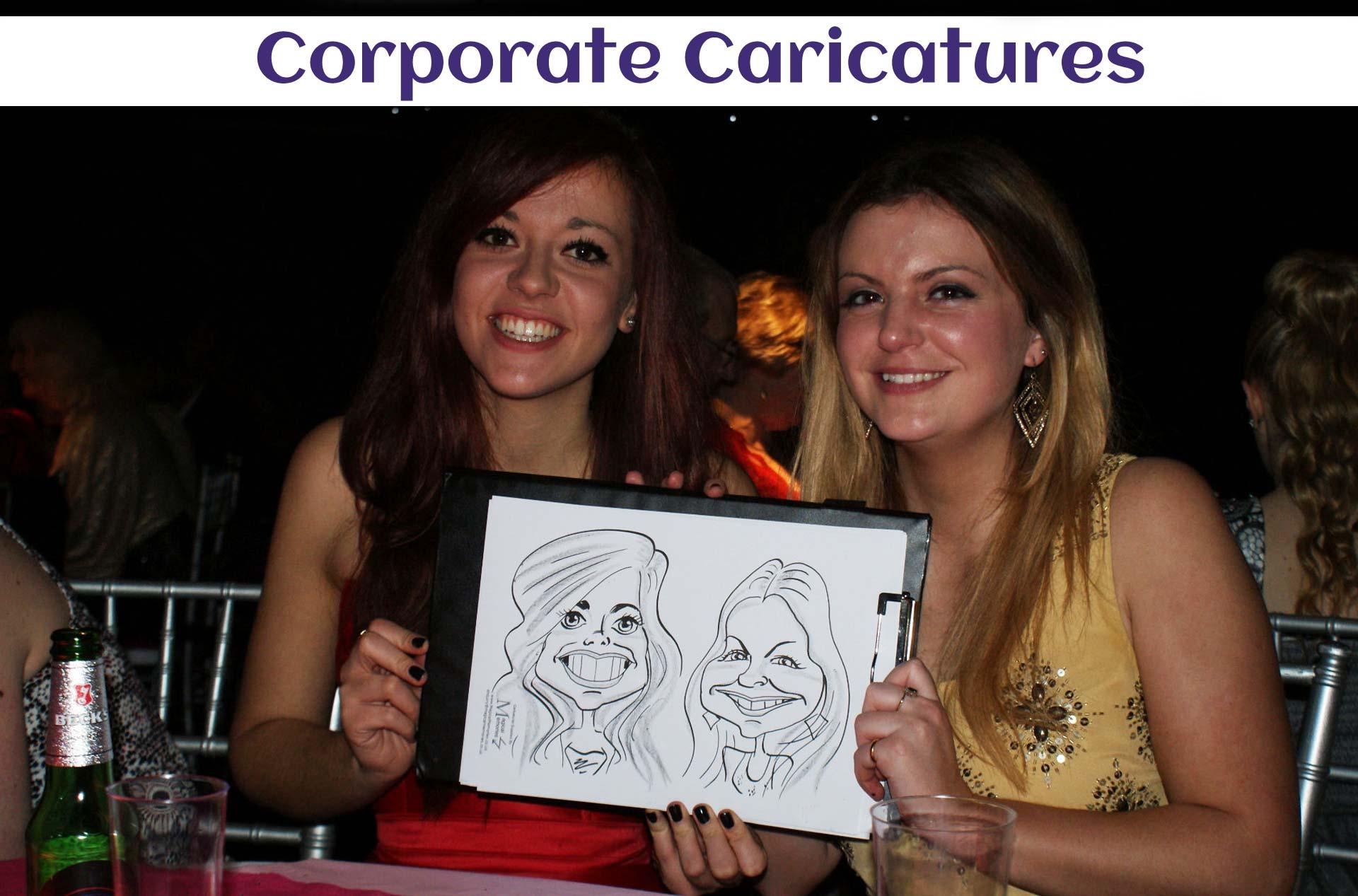 corporate caricaturists