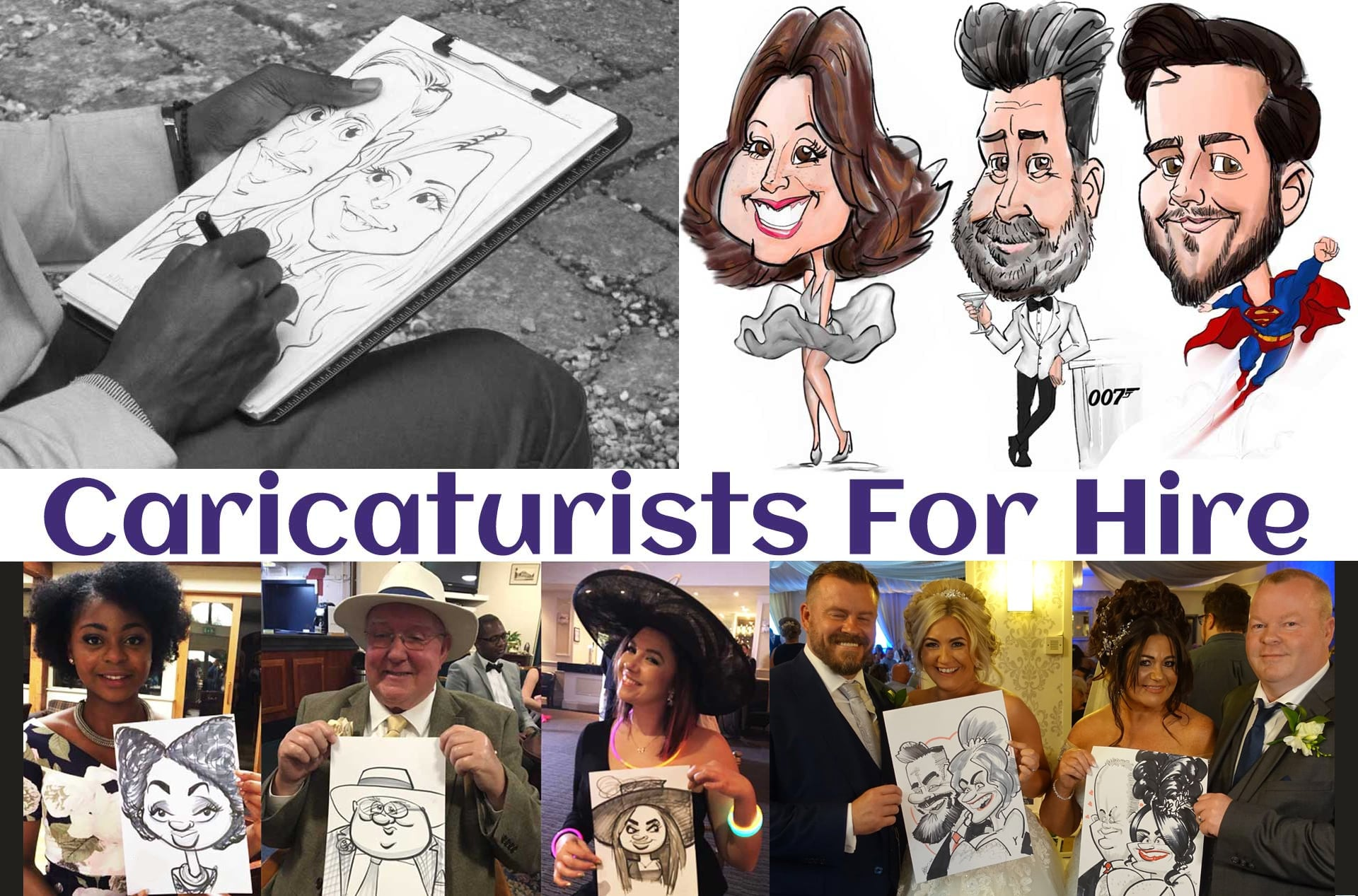 Caricaturists In Warwickshire
