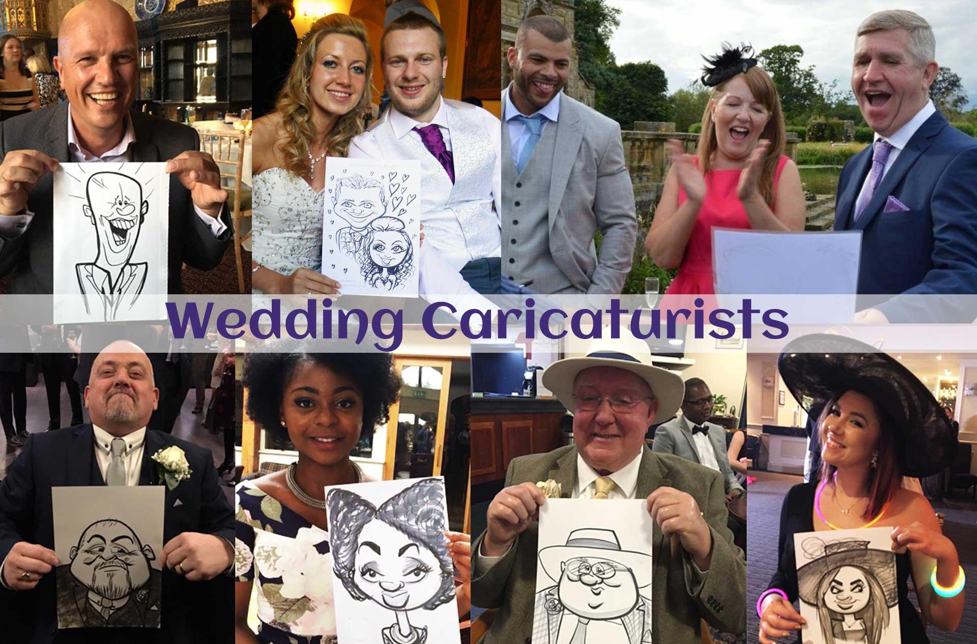 Wedding Caricaturists